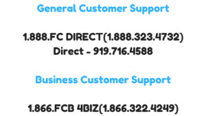 First Citizens Bank Customer Care Numbers