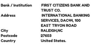 First Citizen Bank Swift Code | My Banking Information  Citizens