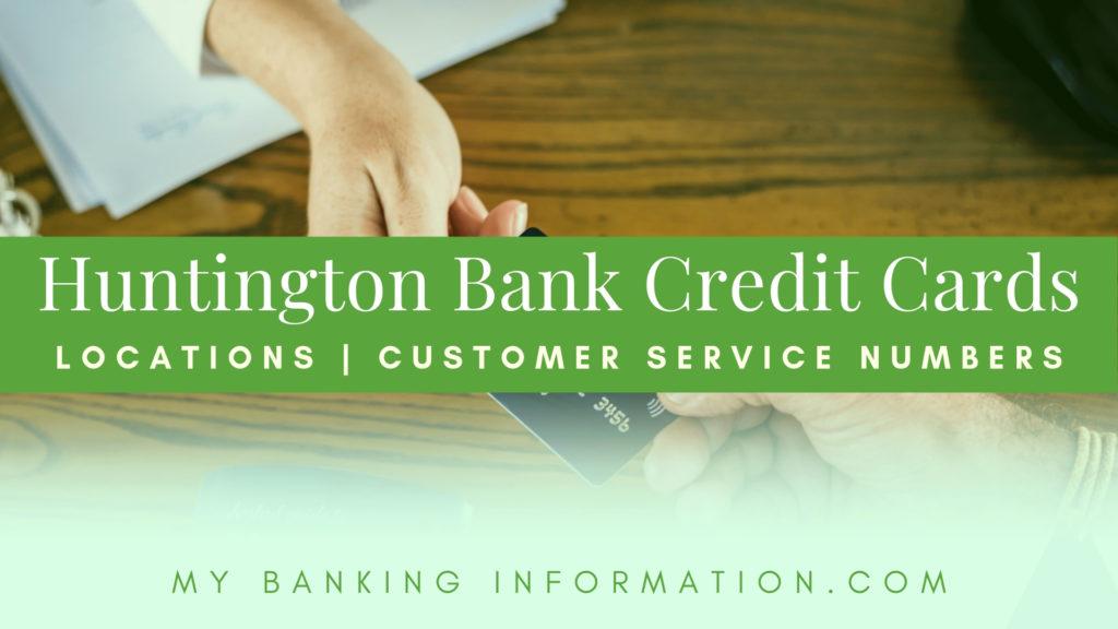 Huntington Bank Credit Cards