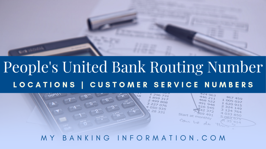 Peoples United Bank Routing Number