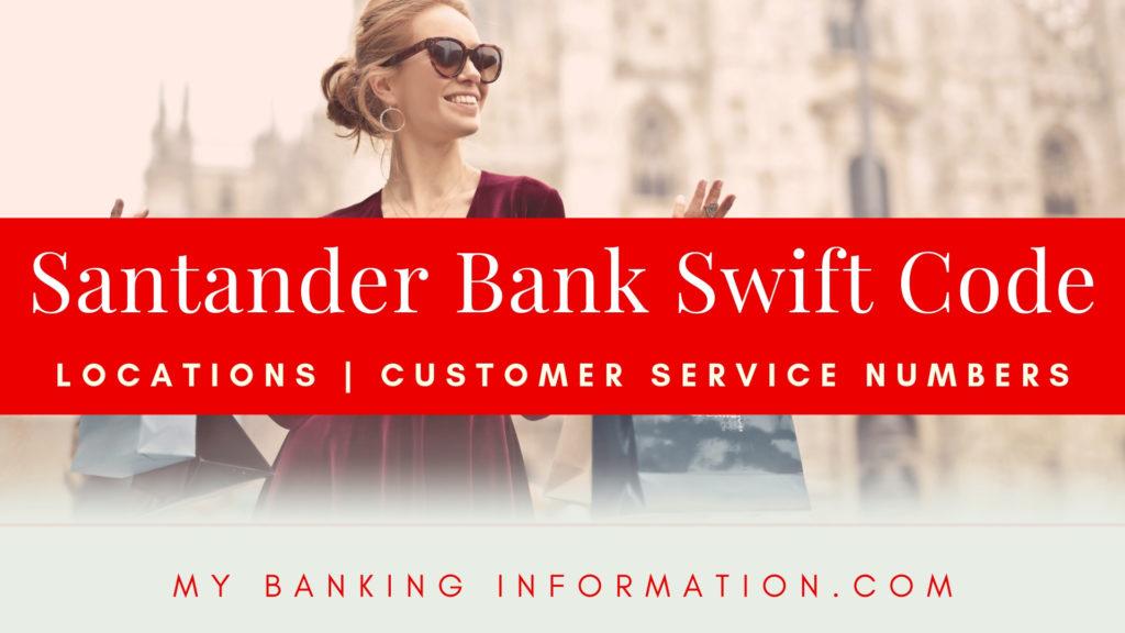 Santander Bank Swift Code