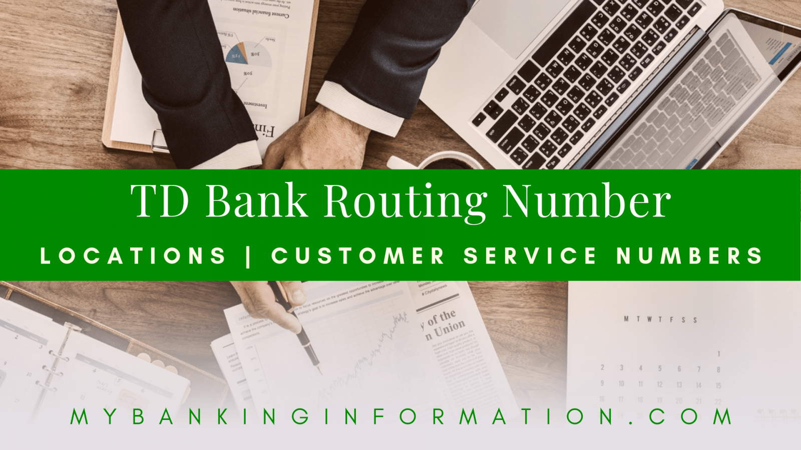 TD Bank Routing Number (Updated 2019 With Copy Button)